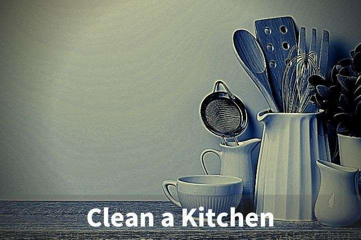 Clean a Kitchen in 10 Minutes